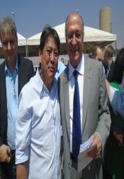Presidente da Associação Comercial de São Joaquim da Barra comparece na inauguração do novo Fórum