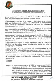 Novo Decreto de 26 de junho com as novas medidas dos serviços essenciais e não essenciais