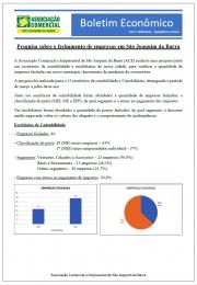 Pesquisa sobre o fechamento de empresas em São Joaquim da Barra