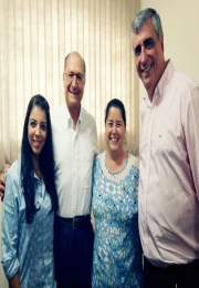 Governador Geraldo Alckmin visita Associação Comercial e Empresarial de São Joaquim da Barra