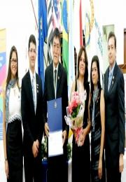 Rotary Club São Joaquim da Barra entrega Título de Companheiro Paul Harris ao Presidente ACE Carlos Takatomo Harada